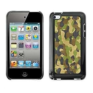 Print Motif Coque de protection Case Cover // V00002535 patrón de tela de camuflaje // Apple ipod Touch 4 4G 4th