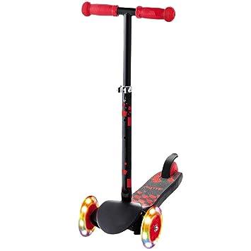 YUMEIGE Patinetes Patinetes Kick Scooter Ajustable de Tres ...
