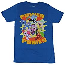 My Little Pony Mens T-Shirt - Power Ponies Superhero Group in Logo