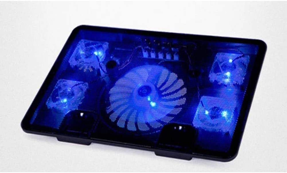 Gaming Laptop LCD Screen Five Silent Fan Radiators High Wind Speed Designed Radiator Fan for CPU PC Gamer Office