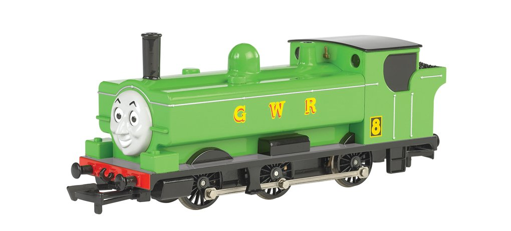 Bachmann Thomas and Friends Duck Locomotive with Moving Eyes (HO Scale) by Bachmann Trains