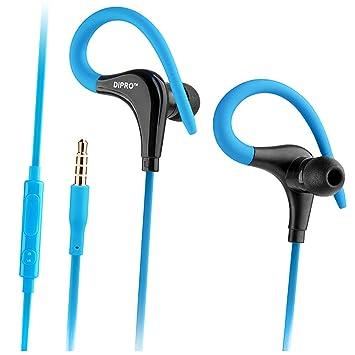 Auriculares Deportivos con Cable en Auriculares con micrófono y ...