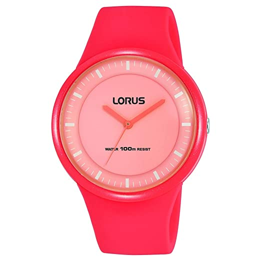 Lorus Reloj Analógico para Mujer de Cuarzo con Correa en Silicona RRX35FX9: Amazon.es: Relojes