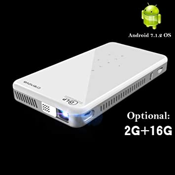 HD Mini proyector X2 con Android 7.1OS WiFi Bluetooth (2G + ...