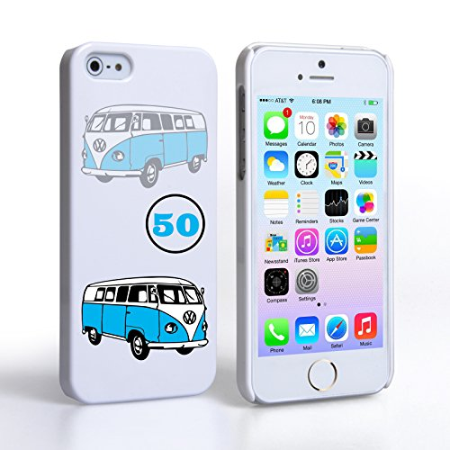 Caseflex iPhone 5 / 5S Hart Hülle VW Bulli Oldtimer Schtutzhülle