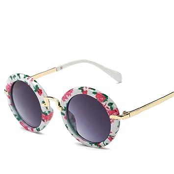 Gafas De Sol Los Niños Cute Gafas Gafas Redondas Chicas ...