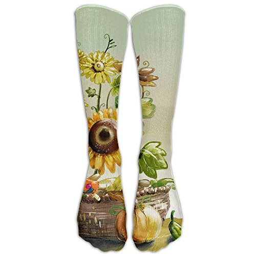 Fairy Tale Flower Funny Dress Classic Athletic Socks Women Knee High Running Socks Men Under Armour Under Armour Socks White A Pair (Fairy Tale Wool)