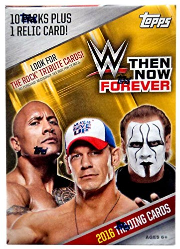Topps 2016 WWE Then Now Forever Blaster Box Card -