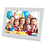 12 inch Digital Photo Frames, AKImart High Definition 1280x800 Picture Frame Wall Mountable with Remote Control Support MP3 and Video Player