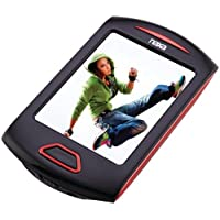 NAXA NMV179RD 8GB 2.8 Touchscreen Portable Media Players (Red)