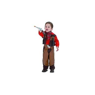 El Rey del Carnaval - Disfraz vaquero talla 2 años: Amazon.es ...