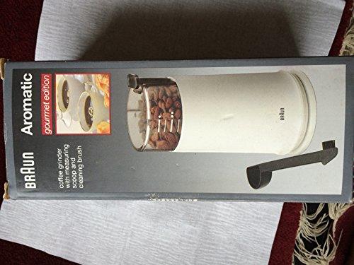 Braun Aromatic Coffee Grinder Gourmet
