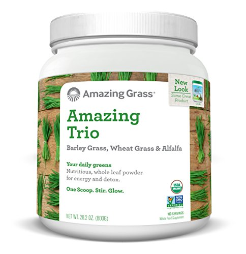 Amazing Grass  Amazing Trio Powder 100 Servings, 28.2 Oz