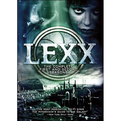 DVD : Lexx: Season 1 & 2 (Full Frame, Boxed Set, 4 Disc)