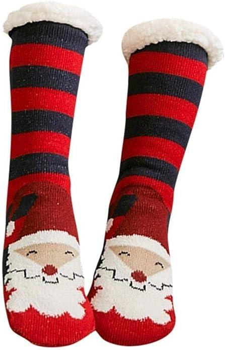 YiXing Dicke warme Schlafsocken Hausschuhe Socken Dicke