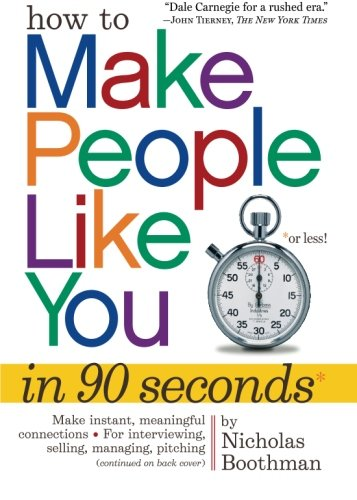 How to Make People Like You in 90 Seconds or Less (Make People Like You compare prices)