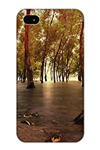 Case Provided For Iphone 4/4s Protector Case Waterscape Phone Cover With Appearance