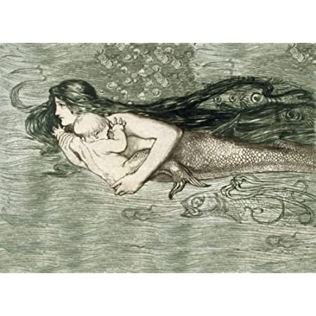 51BEhD8I9eL._SS450_ Mermaid Wall Art and Mermaid Wall Decor