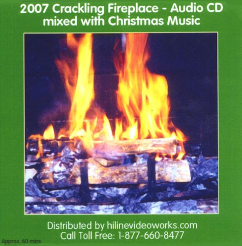 Fireplace With Christmas Music.Brad Prevedoros 2007 Crackling Fireplace Audio Cd Mixed