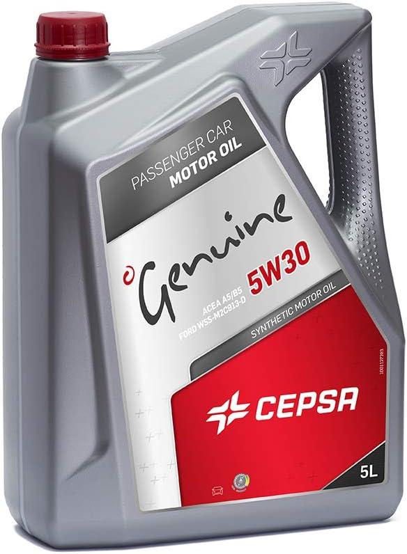 CEPSA 5W30 5L - Lubricante Sintético para Vehículos Gasolina y ...