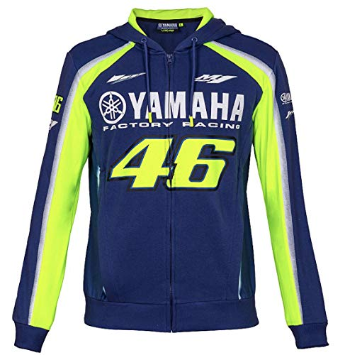 Valentino Rossi 46 MotoGP Yamaha Zip Hoody Jacket Mens for sale  Delivered anywhere in Canada