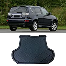 Interior Accessories Rear Trunk Tray Boot Liner Cargo Mat Floor For Mitsubishi Outlander 2007-2012