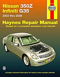 Image of the product Nissan 350Z & Infiniti that is listed on the catalogue brand of Haynes.