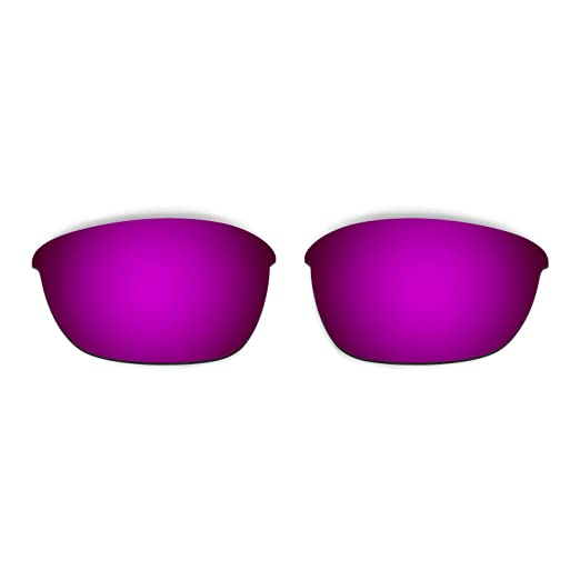 HKUCO Titanium/Purple/Transition/Photochromic Polarized Replacement Lenses For Oakley Half Jacket 2.0 Sunglasses Cs26RWd