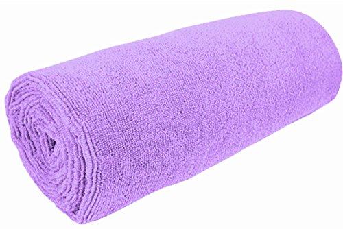 Biospired Studio Yoga Towel, Lavender