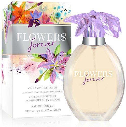 Flowers Forever Women's Eau De Parfum Spray 2.7 Fl. Oz. - Impression of Victorias Secret Bombshells In Bloom