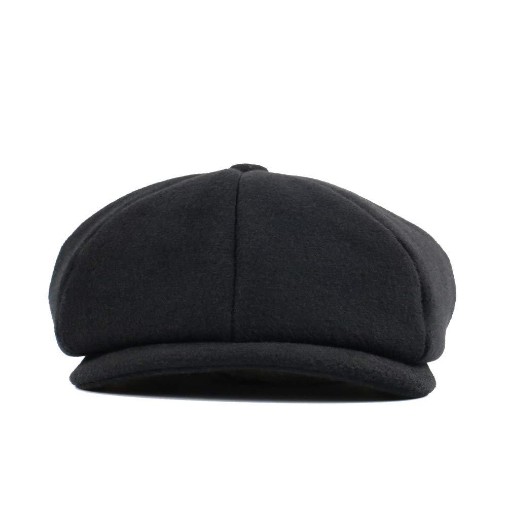 Lawbuce Mens Flat Cap Applejack Patchwork Newsboy Cap Ascot Ivy Hat Adjustable Circumference Hat