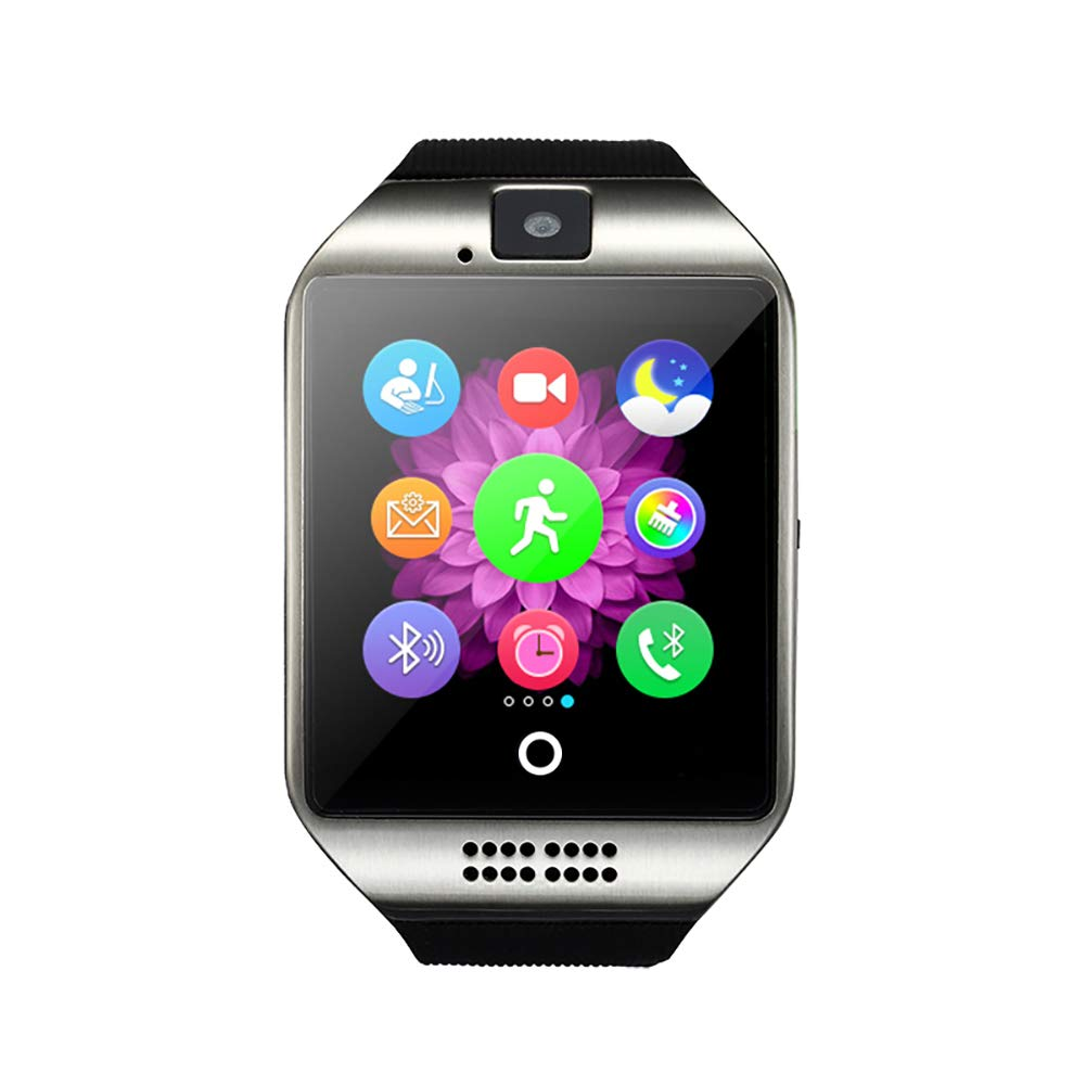 Amazon.com : WuHu Ren Store Bluetooth Smart Watch Men with ...