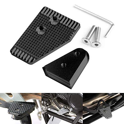 Bruce & Shark Aluminium remhendel achter vergroten zwart geschikt voor B-M-W R1200Gs Adventure Lc 2013-2018