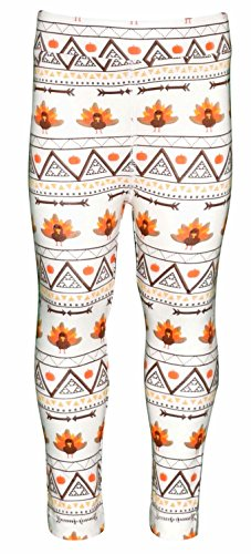 Unique Baby Girls 3 Piece Thanksgiving Tribal Turkey Legging Set (5) by Unique Baby (Image #6)