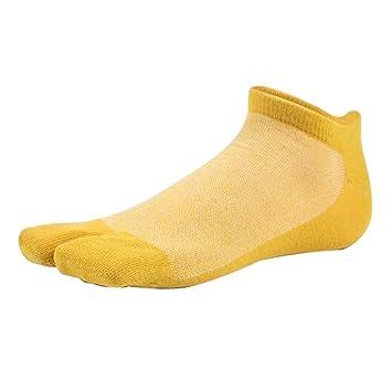 Black Temptation Calcetines japoneses del Dedo del pie Calcetines Simples y Delgados con Dos Dedos, B5: Amazon.es: Deportes y aire libre