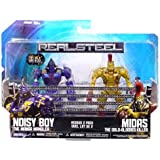 Jakks Pacific Real Steel Movie Basic Action Figure 2Pack Noisy Boy Vs. Midas by Jakks Pacific