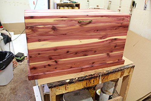 Cedar chest, hope chest, blanket box, bedroom furniture, toy chest, trunk, living room furniture by Rusty's Woodworking