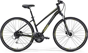 Merida Crossway 100 28 pulgadas Cross Bike Mujer Negro (2016), 57
