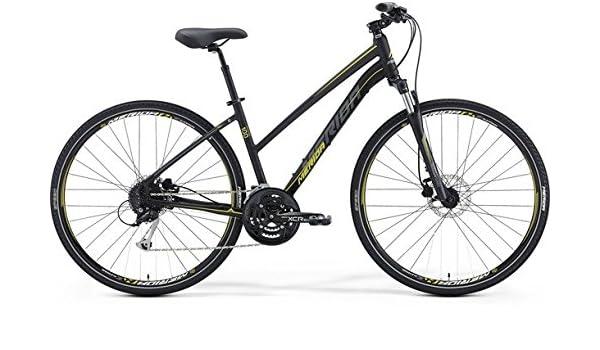 Merida Crossway 100 28 pulgadas Cross Bike Mujer Negro (2016), 57 ...