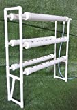 Hydroponic Grow Kit Vertical Double Side 6 Pipe 54 Plant Site (Item # 141121)