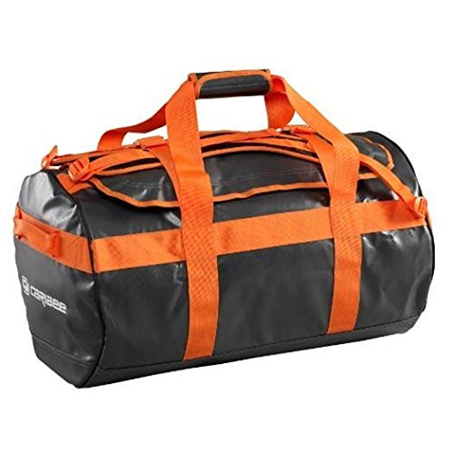 Duffle Kokoda Bag Camp Caribee Base Duffel Orange 40 Weatherproof Travel Liters 65 cm Charcoal 0wdXtXq