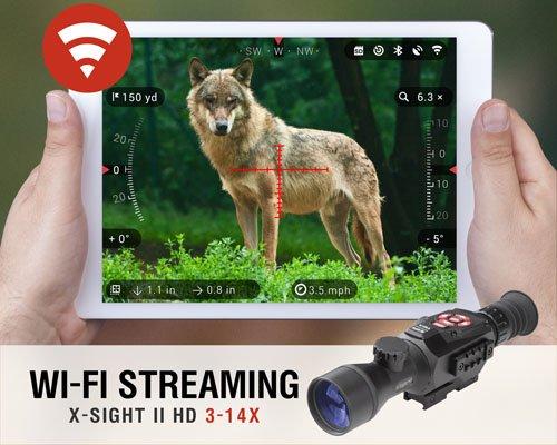 AMERICAN TECHNOLOGIES NETWORK CORP American Technologies Network DGWSXS314Z X-Sight II Riflescope, 3-14x