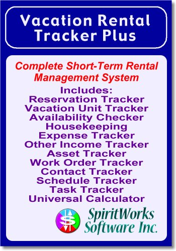 Vacation Rental Tracker Plus [Download] by SpiritWorks Software Inc.