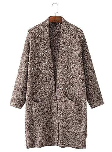 Hiver en Tricot Saoye Cardigan Automne Fashion Manteau Longues Femme wYqqHTg
