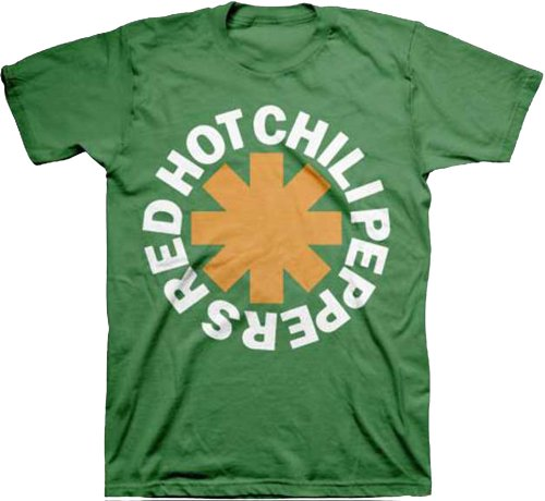 Red Hot Chili Peppers Asterisk Irish Mens T-Shirt-large