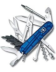 Victorinox Nóż kieszonkowy Cyber Tool M (32 funkcje, ostrze, klucz do bitów/uchwyt) niebieski przezroczysty