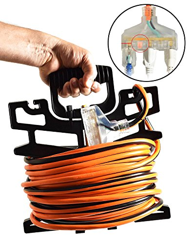 100ft 3 Outlet Extension Cord - 5