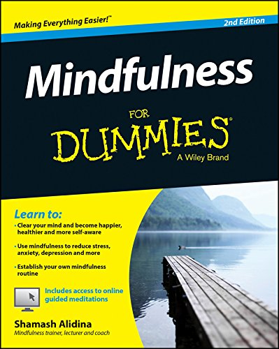 Mindfulness For Dummies cover