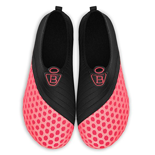 Barerun for Barefoot Water Swim Yoga for Men Pink Beach Socks Pool Sports Quick Dry Shoes Surf Black Aqua Women AxFAw8H