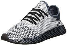adidas Deerupt Runner, Zapatillas para Hombre, Legacy Blue/Silver Met./Core Black, 44 2/3 EU